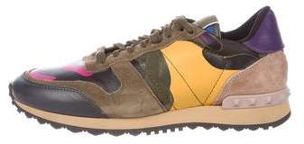 Valentino Rock Runner Low-Top Sneakers