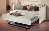The Well Appointed House French Daybed with a Pop Up Trundle-Available in Three Different Finishes