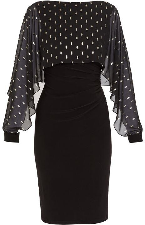 Thumbnail for your product : Gina Bacconi Cressa Dress With Overtop