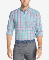 Izod Men's Saltwater Breeze Performance Plaid Shirt