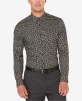Perry Ellis Men's Slim Fit Non-Iron Stormy Floral Shirt