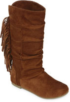 Arizona Rae Girls Fringe Boots - Little Kids