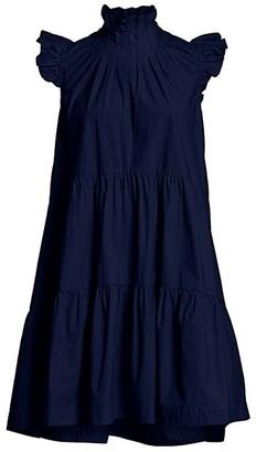 Sea Waverly Ruffled Flounce Dress