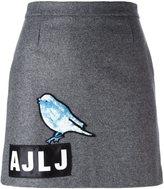 Au Jour Le Jour sequin bird skirt