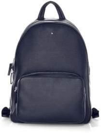 Montblanc Men's Meisterstuck Soft Grain Backpack Large - Blue