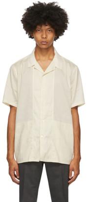 Tiger of Sweden Off-White Riccerde Short Sleeve Shirt
