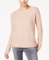 OhMG! Juniors' Cutout-Back Sweater