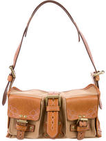 Mulberry Canvas & Leather Roxanne Bag