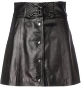 RED Valentino mini leather skirt