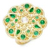 Temple St. Clair CL Color 18K Yellow Gold Mosaic Statement Ring