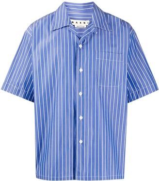 Marni Pinstriped Boxy Shirt