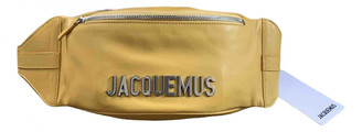 Jacquemus Yellow Leather Clutch bags