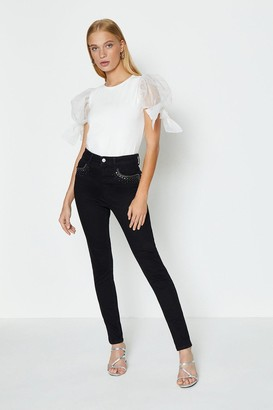 Coast Embellished Stretch Skinny Jeans