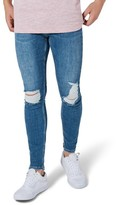 Topman Men's Arthur Ripped Stretch Skinny Jeans