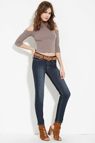 Forever 21 Zipper Pocket Skinny Jeans