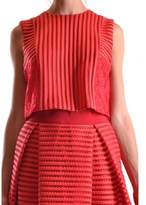 Pinko Women's Red Polyester Top.