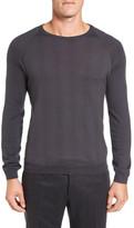 Pal Zileri Neat Dot Merino Wool Crewneck Sweater