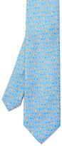J.Mclaughlin Italian Silk Tie in Duck
