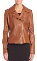 Max Mara Ginepro Leather Jacket