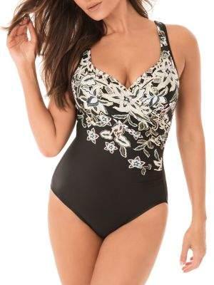 Miraclesuit Cloisonne It's A Wrap 1-Piece Swimsuit
