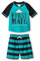 Just One You® made by Carter's Just One You Made by Carter's Toddler Boys' First Mate Rash Guard Swimsuit Set