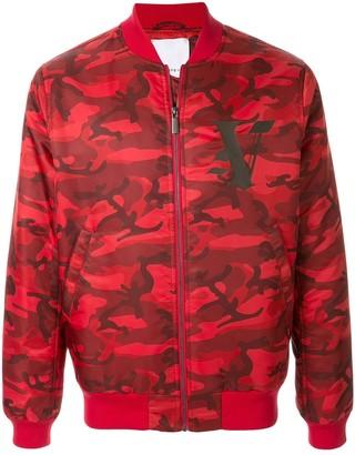 Ports V Camouflage Print Jacket