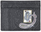 Etro King of Hearts cardholder