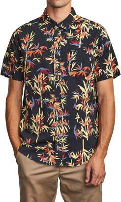 RVCA Bamboozled Short Sleeve Button-Up Shirt