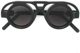 Kuboraum Round Shaped Sunglasses