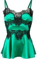 Dolce & Gabbana lace insert cami