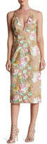 Dress the Population Mariah Embroidered Midi Dress