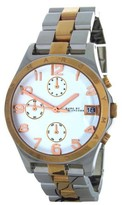 Marc by Marc Jacobs MBM3070 Two-Tone Link Bracelet Womens Watch