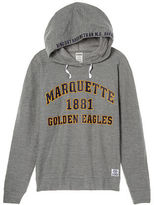 PINK Marquette University Crossover Pullover Hoodie