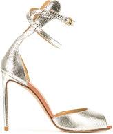 Francesco Russo double strap pumps - women - Leather - 36