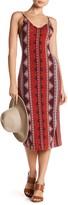 Angie Sleeveless Knit Print Dress