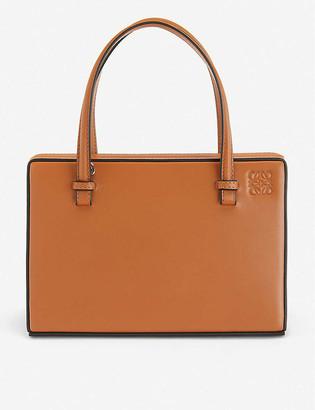 Loewe Postal leather shoulder bag