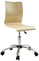 Modway Fashion Swivel Wood Desk Chair