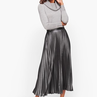 Talbots Pleated Skirt - Foil
