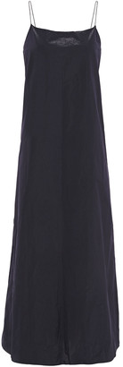 Theory Taffeta Maxi Slip Dress