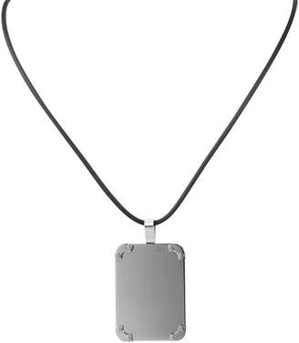 Camilla And Marc Akzent Women's Pendant Stainless Steel with Natural Rubber Cord 45 CM 002500000120