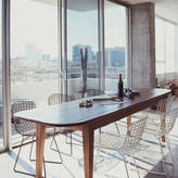 Ciel A Black Metal Dining Chair, Also In Silver Or White