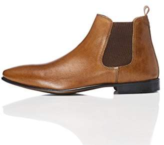 find. Albany Men's Chelsea Boots, Brown (Tan), (45 EU)