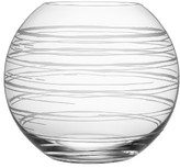 Orrefors Graphic Medium Round Vase