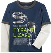 Osh Kosh Oshkosh Long Sleeve T-Shirt-Preschool Boys