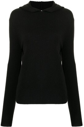 KHAITE Stefka hooded wool jumper