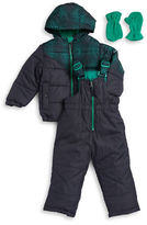 Hawke & Co Baby Boys Microdot Coat and Snowpants Set