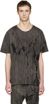 Nude:mm Grey Printed T-shirt