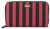 Kate Landry Cabana Stripe Zip-Around Wallet