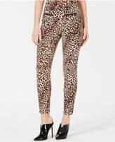 Guess Double-Snap Animal-Print Pants
