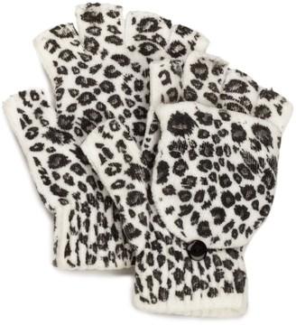 La Fiorentina Women's Animal Flip Top Fingerless Glove